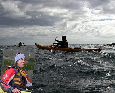 Franzi Pokorny - Seekajaktour zwischen den Åland Inseln