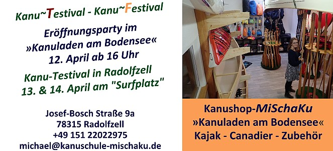 Kanu-Testival-2019-Kanuladen am Bodensee